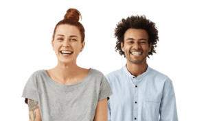 Couple Smiling - North Stapley Dental Care